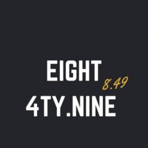 Logo eight4tyNine